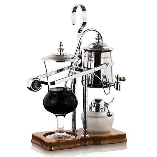 KJL13 Royal Belgian Coffee Pot Filter Drip Type Huishoudelijk Roestvrijstalen Siphon Coffee Makergift Box (Color…