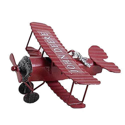 tuin buiten beelden ontwerp kunst Retro Vliegtuigen Model Creatieve ornamenten Simulatie Ambachten Woonkamer beelden thuis Ambachten