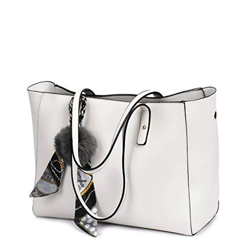 Damenhandtasche PU Lederhandtasche Europa und Amerika Umhängetasche mit Schulterquaste Schwarze Umhängetasche (Farbe: 5#, Größe: Fransenanhänger)