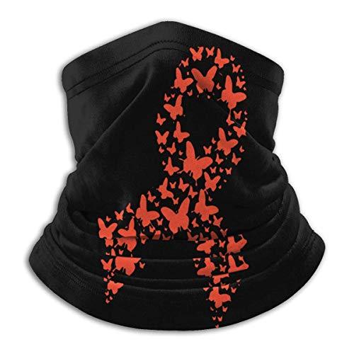 XXWKer Microfibre Chapeaux Tube Masque Visage Tour de Cou Cagoule, Kidney Cancer Awareness Men Women Cold Weather Ultimate Thermal Retention Face