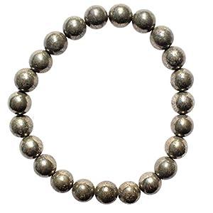 Charged Natural Pyrite Crystal Bracelets -Solar Plexus Chakra Bracelet