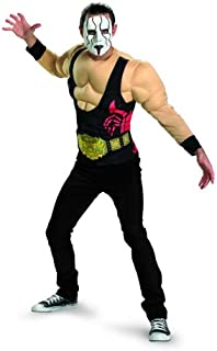 Disguise TNA Wrestling Sting Essential Muscle Adult Costume