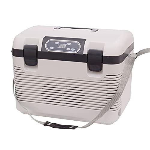 LYZL Refrigerador de Coche al Aire Libre de 19 litros, Mini refrigerador portátil para Acampar para el hogar, automóvil, Vacaciones, Bebidas alimenticias