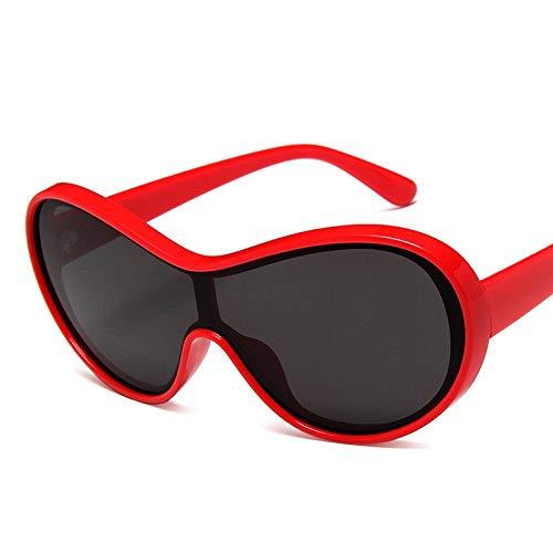 LLXXYY Gafas De Sol,Rojo Vintage Gafas De Sol Hombre Gafas De Sol De Conducción Macho Tonalidades Clásicas Gafas De Sol Gafas De Conducción Deportivo Ciclismo De Montaña Luz Polarizada Goggle Eye