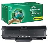 GREENSKY 106A Toner (3,000 Seiten) Kompatibel für HP 106A W1106A Ersatz für HP Laser 107a 107r...