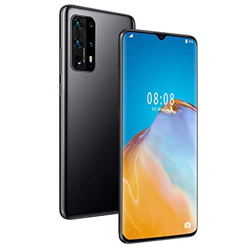 Dilwe Smartphone Desbloqueado, teléfono con Pantalla táctil Grande de 6,7', teléfono móvil 2 + 16G MTK6580P de Cuatro núcleos, teléfono móvil con Doble SIM Desbloqueado(Negro)