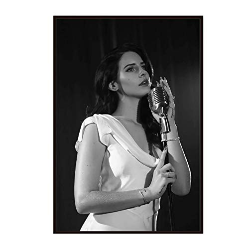 Lana Del Rey Music Singer Star Poster Painting Art Poster Print Canvas Home Decor Picture Wall Print Poster And Prints-50x70cm No Frame