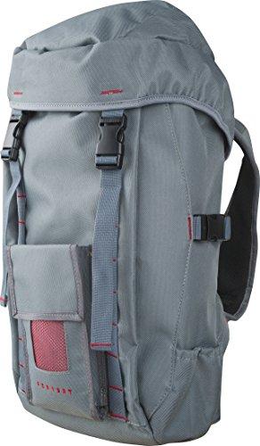 FORVERT Backpack Lasse, Grey Burgundy, 55 x 30 x 15 cm, 18 Liter, 880571
