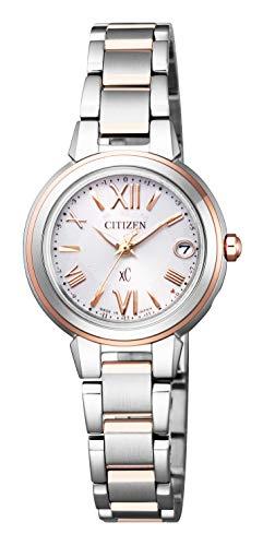 [シチズン] 腕時計 クロスシー エコ・ドライブ 電波時計 ES9434-53W レディース マルチカラー