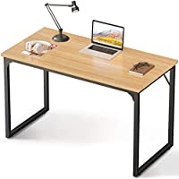Coleshome Computer Desk 39 Inch Modern Simple Style Desk for Home Office