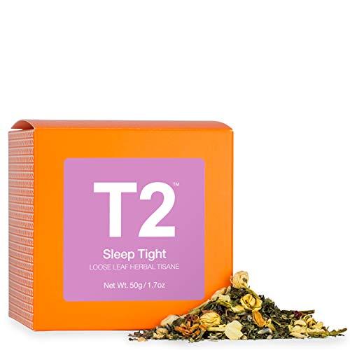 T2 Tea - Sleep Tight Herbal Tea, Loose Leaf Herbal Tisane Tea in a Box 50g (1.7oz)