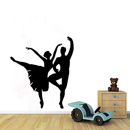 FPUYB 45CM*50CM Gymnastics Wall Sticker Decor Dancing Sitting Room The Bedroom PVC