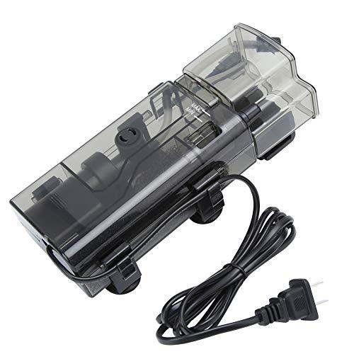 LinLiQiao Accesorios De Filtro De Acuario ABS Acrílico Mini Pecera Separador De Proteínas con Bomba Accesorios De Sistema De Filtro De Acuario Enchufe CN 220V