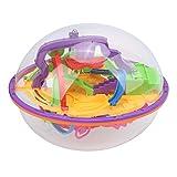 Sicerk Bola De Laberinto 3D, IQ Balance Laberinto De Bolas Juguetes 3D Intellect Maze Ball Puzzle Ball 3D Puzzle Maze Ball para Niños para Reuniones Familiares