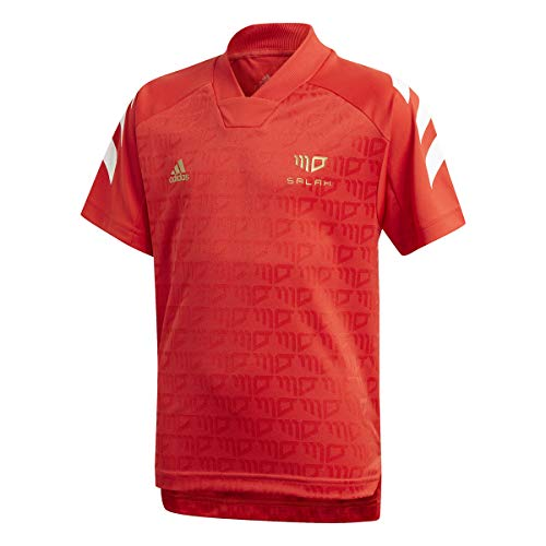 adidas B A.r. S JSY T-Shirt Kinder, Jungen, Unterhemd, GM9003, Rojint/Weiß/Dormet, 176