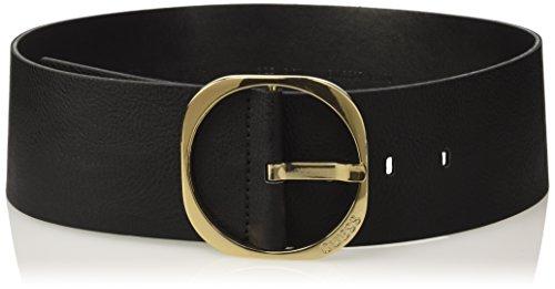 Guess Mooney, Cinturón para Mujer, Negro, Large
