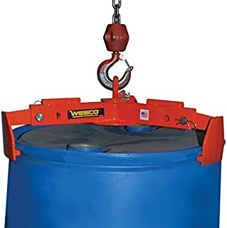 Wesco Industrial Products 240062 Universal Drum Lifter, 1,000-lb. Capacity, 29.5