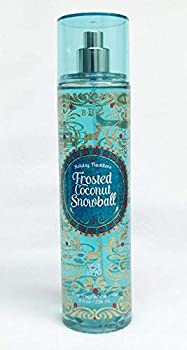 Bath and Body Works Holiday Traditions Frosted Coconut Snowball Body Mist 8 Oz
