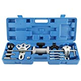 FreeTec Heavy Duty 17pcs Slide Hammer Dent Puller Oil Seal Bearing Extractor 2/3 Jaw External Internal