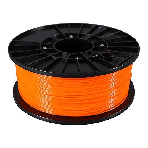 3D Drucker Filament PLA 1 kg Orange 1,75 mm Spule Rolle für 3 D Printer oder Stift in Vakuumverpackung Premium Qualität Spool 1.75mm 1kg color - ARLI