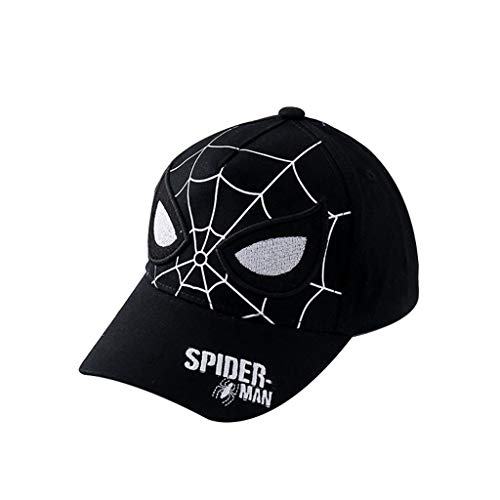 Spiderman Cartoon Kids Gorra De Béisbol/Sombrero De Niño Marvel Disney Cierre De Velcro Ajustable Un Tamaño