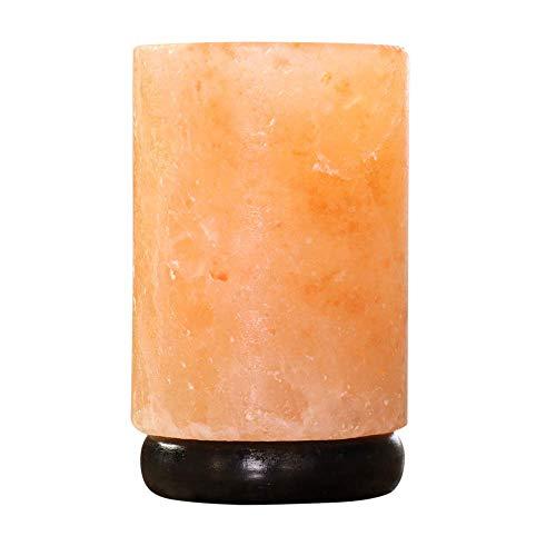 Happy Wax Himalayan Salt Wax Melt Warmer for Wax Melts, Tarts & Cubes - Electric Wax Melter with Automatic Timer, No Mess Silicone Top (Pink Himalayan Salt)