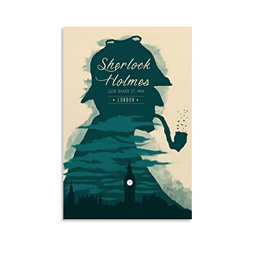 GHRF Póster de Sherlock Holmes de 30 x 45 cm