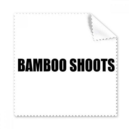 DIYthinker Bamboe Shoots Plantaardige Foods Glazen Doek Schoonmaken Doek Telefoon Screen Cleaner 5 Stks Gift