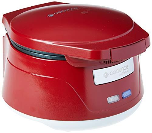 Máquina De Waffle Bowl Cestinha Cadence Cadence Vermelho 110v