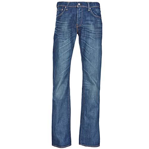 Levi's 527 Low Boot Cut Jeans Herren Blau - DE 44 (US 34/34) - Bootcut Jeans Pants