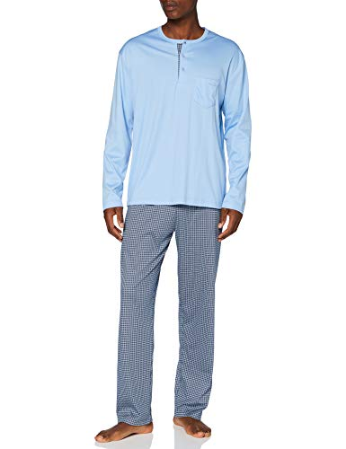 CALIDA Herren Relax Choice Pyjamaset, Placid Blue, S