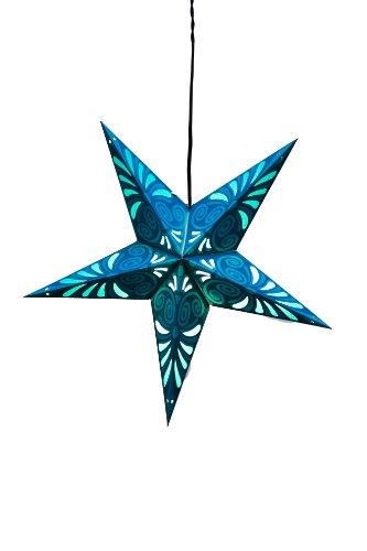 Om Galerie Papier Laterne Star, blau Bliss