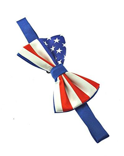 ZAC de Alter Ego® Fancy Dress USA étoiles et rayures Soirée Nœud Papillon