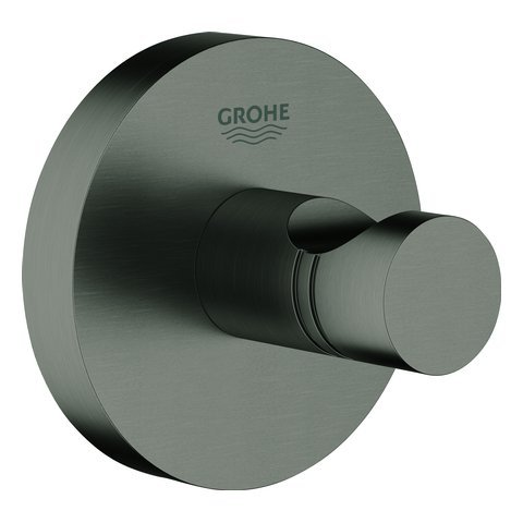 Grohe Essentials Brushed Hard Graphite Wandhaken