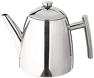 Frieling USA 18/8 Stainless Steel Primo Teapot with Infuser, 14-ounce