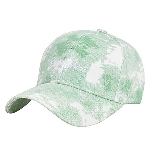New Baseball Cap Summer Men Women Trend Lovers Colorful Snapback Hat Sun Outdoor Adjustable Sun-Green-1