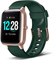 LETSCOM Smart Watch Health & Fitness Tracker, IP68 Waterproof Smartwatch with Heart Rate Monitor, Pedometer Watch Step...