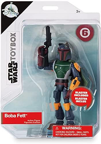 Disney Store Star Wars Boba Fett Action Figure 13 cm Toybox