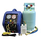 Mastercool (69100) Complete A/C Recovery System,Blue