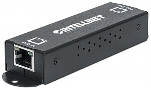 Intellinet 560962 Gigabit High-Power PoE+ Extender Repeater, IEEE 802.3at/af Power over Ethernet (PoE+/PoE), metaal