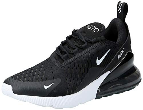 Nike W Air Max 270, Scarpe Running Donna, Black Anthracite White 001, 38 EU