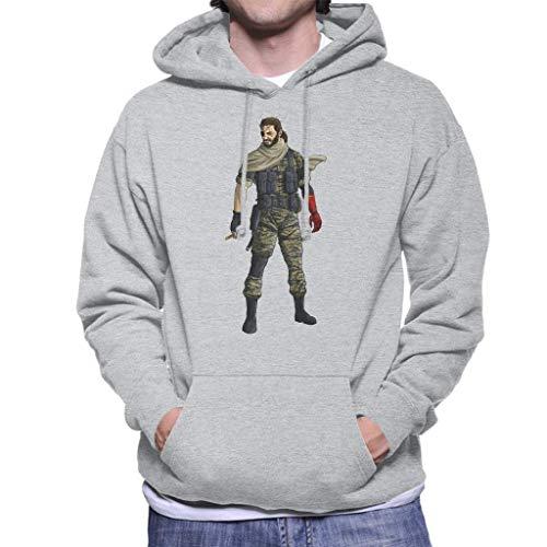 JXZO Suéter de los Hombres Metal Gear Solid V Venom Snake Men's...