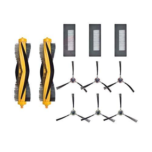 Yongenee Reemplazo lado cepillo hepa filtro principales cepillos para deebot m87 m88 aspirador Accesorios piezas