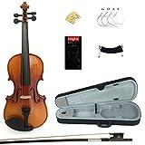 Kinglos PJB1002 1/4 Massivholz Schüler Akustische Violine Geige Anlasser Ausrüstung