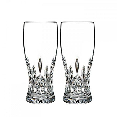 Waterford Crystal Lismore Pint Glass, Pair