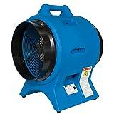 Americ VAF3000A 12' Industrial Confined Space Ventilator—2800CFM, 1 HP, 115 Volt