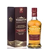 Tomatin Cask Strength Edition mit Geschenkverpackung Whisky (1 x 0.7 l)