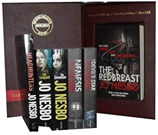 Jo Nesbo Collection Pack a Harry Hole Mystery Set: Redbreast, Nemesis, the Devils Star, the Redeemer, the Snowman, the Leo...
