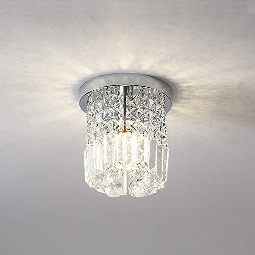 Lampara techo moderna cristal Colgante Redondo Luz de techo creativa,Lámpara de techo...