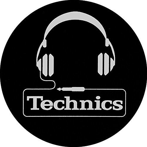 Technics 60642 Feutrine pour platine vinyle DJ Headphone Logo